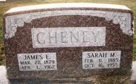 CHENEY, JAMES EDWARD - Izard County, Arkansas | JAMES EDWARD CHENEY - Arkansas Gravestone Photos