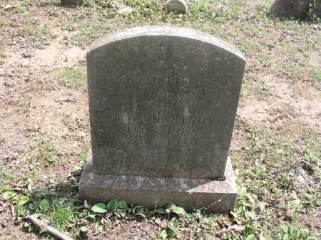 CHESTNUT, MARY - Izard County, Arkansas   MARY CHESTNUT - Arkansas Gravestone Photos