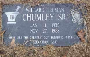 CHUMLEY SR, WILLARD TRUMAN - Izard County, Arkansas   WILLARD TRUMAN CHUMLEY SR - Arkansas Gravestone Photos