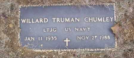 CHUMLEY (VETERAN), WILLARD TRUMAN - Izard County, Arkansas   WILLARD TRUMAN CHUMLEY (VETERAN) - Arkansas Gravestone Photos