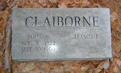 CLAIBORNE CLAIBORNE, FRANCIS - Izard County, Arkansas   FRANCIS CLAIBORNE CLAIBORNE - Arkansas Gravestone Photos