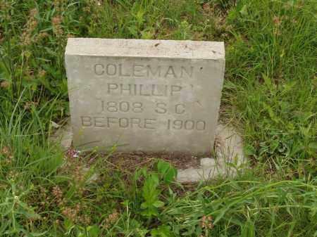 COLEMAN, PHILLIP - Izard County, Arkansas | PHILLIP COLEMAN - Arkansas Gravestone Photos
