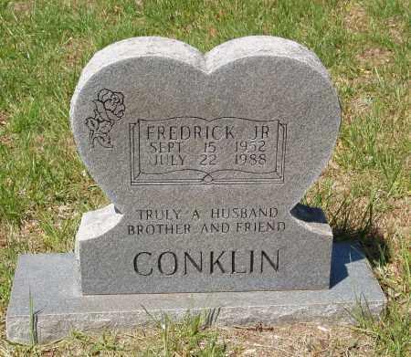 CONKLIN, FREDRICK JR. - Izard County, Arkansas   FREDRICK JR. CONKLIN - Arkansas Gravestone Photos