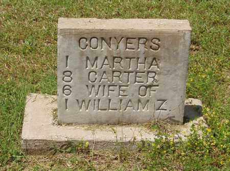 CONYERS, MARTHA - Izard County, Arkansas | MARTHA CONYERS - Arkansas Gravestone Photos
