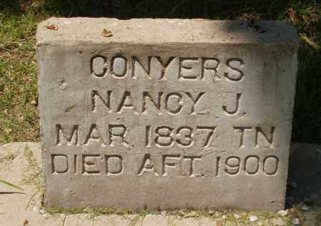 CONYERS, NANCY - Izard County, Arkansas | NANCY CONYERS - Arkansas Gravestone Photos