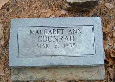 COONRAD, MARGARET - Izard County, Arkansas   MARGARET COONRAD - Arkansas Gravestone Photos