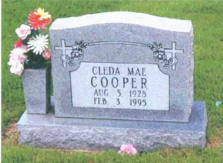 COOPER, CLEDA MAE - Izard County, Arkansas | CLEDA MAE COOPER - Arkansas Gravestone Photos