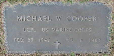 COOPER (VETERAN), MICHAEL W. - Izard County, Arkansas | MICHAEL W. COOPER (VETERAN) - Arkansas Gravestone Photos