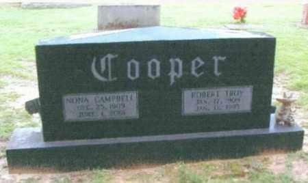 CAMPBELL COOPER, NONA - Izard County, Arkansas | NONA CAMPBELL COOPER - Arkansas Gravestone Photos