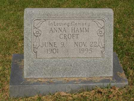 CROFT, ANNA - Izard County, Arkansas | ANNA CROFT - Arkansas Gravestone Photos
