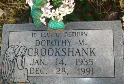 CROOKSHANK, DOROTHY M. - Izard County, Arkansas   DOROTHY M. CROOKSHANK - Arkansas Gravestone Photos
