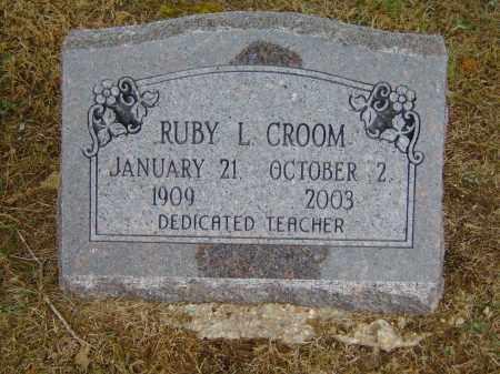CROOM, RUBY L. - Izard County, Arkansas | RUBY L. CROOM - Arkansas Gravestone Photos