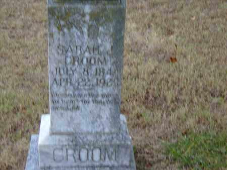 PEARSON CROOM, SARAH JANE - Izard County, Arkansas | SARAH JANE PEARSON CROOM - Arkansas Gravestone Photos