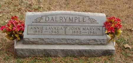 DALRYMPLE, JOHN MARVIN - Izard County, Arkansas | JOHN MARVIN DALRYMPLE - Arkansas Gravestone Photos