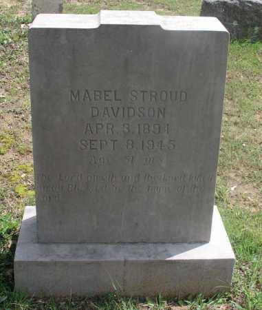 DAVIDSON, MABEL ANN - Izard County, Arkansas | MABEL ANN DAVIDSON - Arkansas Gravestone Photos