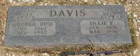 "DAVIS, GEORGE ""BUD"" - Izard County, Arkansas   GEORGE ""BUD"" DAVIS - Arkansas Gravestone Photos"