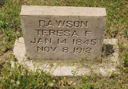 DAWSON, THERESA F - Izard County, Arkansas | THERESA F DAWSON - Arkansas Gravestone Photos