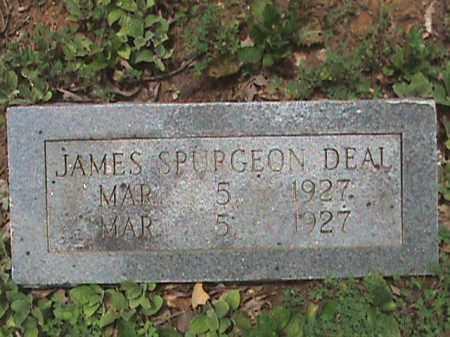 DEAL, JAMES SPURGEON - Izard County, Arkansas | JAMES SPURGEON DEAL - Arkansas Gravestone Photos