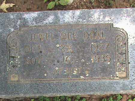 DEAL, JEWELL DEE - Izard County, Arkansas | JEWELL DEE DEAL - Arkansas Gravestone Photos