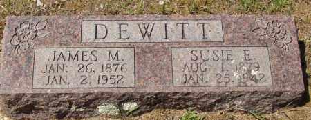 BAKER DEWITT, SUSIE E - Izard County, Arkansas | SUSIE E BAKER DEWITT - Arkansas Gravestone Photos