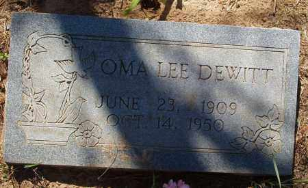 SANDERS DEWITT, OMA LEE - Izard County, Arkansas | OMA LEE SANDERS DEWITT - Arkansas Gravestone Photos