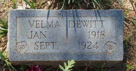 DEWITT, VELMA - Izard County, Arkansas | VELMA DEWITT - Arkansas Gravestone Photos