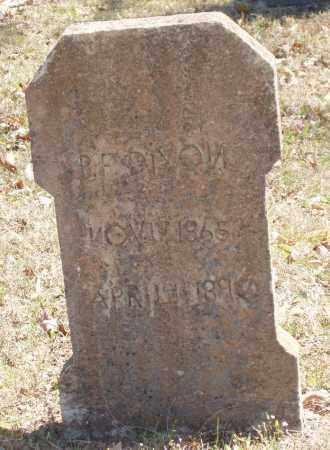 DIXON, BENJAMIN FRANKLIN - Izard County, Arkansas   BENJAMIN FRANKLIN DIXON - Arkansas Gravestone Photos