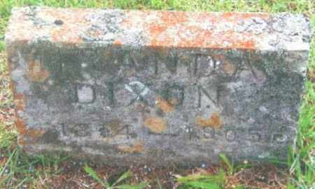 CLEMMONS DIXON, MIRANDA - Izard County, Arkansas | MIRANDA CLEMMONS DIXON - Arkansas Gravestone Photos