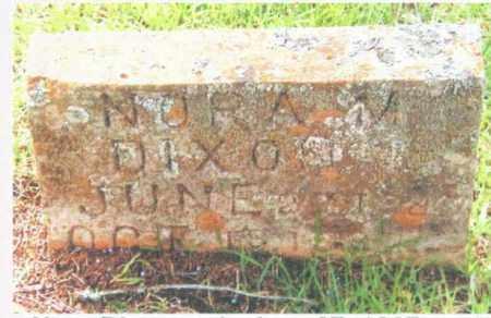 DIXON, NORA A. - Izard County, Arkansas | NORA A. DIXON - Arkansas Gravestone Photos