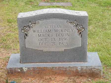 DIXON, WILLIAM MCKINLY MACK - Izard County, Arkansas   WILLIAM MCKINLY MACK DIXON - Arkansas Gravestone Photos