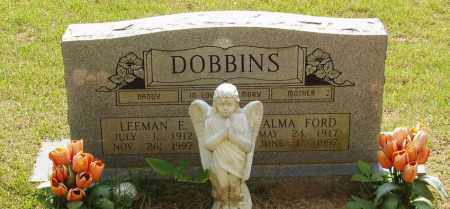 FORD DOBBINS, ALMA - Izard County, Arkansas | ALMA FORD DOBBINS - Arkansas Gravestone Photos