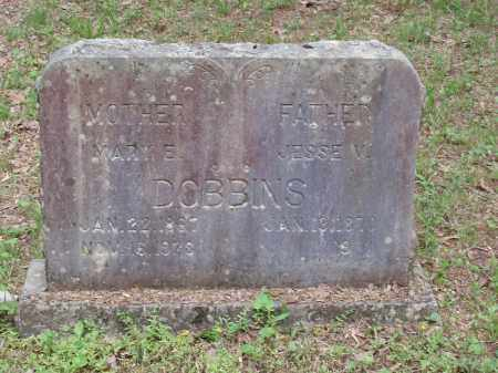 JONES DOBBINS, MARY E - Izard County, Arkansas | MARY E JONES DOBBINS - Arkansas Gravestone Photos