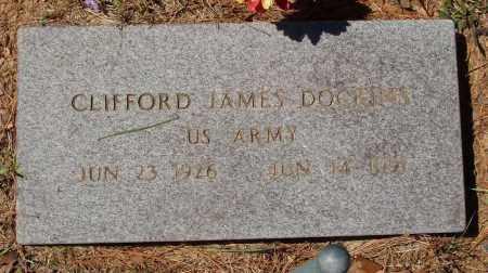 DOCKINS  (VETERAN), CLIFFORD JAMES - Izard County, Arkansas   CLIFFORD JAMES DOCKINS  (VETERAN) - Arkansas Gravestone Photos