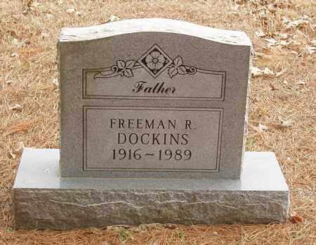 DOCKINS, FREEMAN R - Izard County, Arkansas | FREEMAN R DOCKINS - Arkansas Gravestone Photos