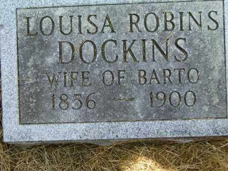 DOCKINS, LOUISA - Izard County, Arkansas | LOUISA DOCKINS - Arkansas Gravestone Photos