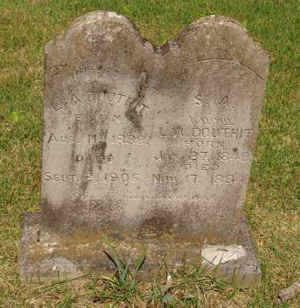 DOUTHIT, S A - Izard County, Arkansas | S A DOUTHIT - Arkansas Gravestone Photos