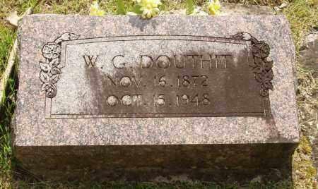 DOUTHIT, WILLIAM G - Izard County, Arkansas | WILLIAM G DOUTHIT - Arkansas Gravestone Photos