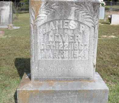 DOVER, JAMES PLEASANT - Izard County, Arkansas   JAMES PLEASANT DOVER - Arkansas Gravestone Photos