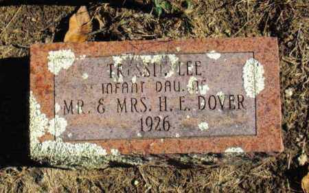 DOVER, TRESSIE LEE - Izard County, Arkansas | TRESSIE LEE DOVER - Arkansas Gravestone Photos