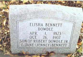 DOWDLE, ELISHA BENNETT - Izard County, Arkansas | ELISHA BENNETT DOWDLE - Arkansas Gravestone Photos