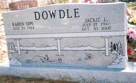 DOWDLE, JACKIE - Izard County, Arkansas | JACKIE DOWDLE - Arkansas Gravestone Photos