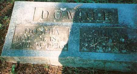 HANCOCK DOWDLE, THEODOSHIA(DOSHIA) - Izard County, Arkansas | THEODOSHIA(DOSHIA) HANCOCK DOWDLE - Arkansas Gravestone Photos
