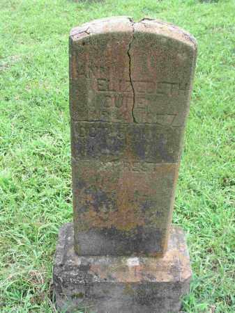 DUREN, ANN ELIZABETH - Izard County, Arkansas | ANN ELIZABETH DUREN - Arkansas Gravestone Photos