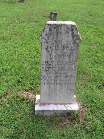 DUREN ELDER, WILLIAM MARION - Izard County, Arkansas | WILLIAM MARION DUREN ELDER - Arkansas Gravestone Photos