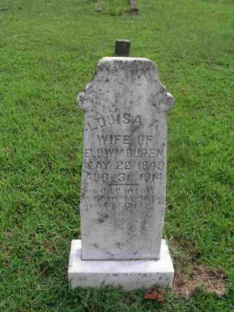 WILLIAMS DUREN, LOUISA ALBERTINE - Izard County, Arkansas | LOUISA ALBERTINE WILLIAMS DUREN - Arkansas Gravestone Photos