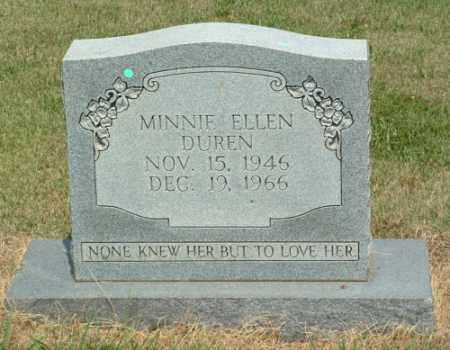 DUREN, MINNIE ELLEN - Izard County, Arkansas | MINNIE ELLEN DUREN - Arkansas Gravestone Photos
