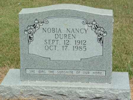 DUREN, NOBIA NANCY - Izard County, Arkansas | NOBIA NANCY DUREN - Arkansas Gravestone Photos