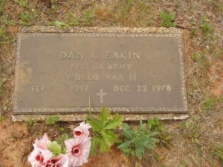 EAKIN  (VETERAN WWII), DAN LACKEY - Izard County, Arkansas | DAN LACKEY EAKIN  (VETERAN WWII) - Arkansas Gravestone Photos