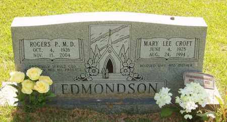EDMONDSON, ROGERS P., M.D. - Izard County, Arkansas | ROGERS P., M.D. EDMONDSON - Arkansas Gravestone Photos