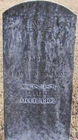 EDWARDS, MARTHA H. - Izard County, Arkansas | MARTHA H. EDWARDS - Arkansas Gravestone Photos